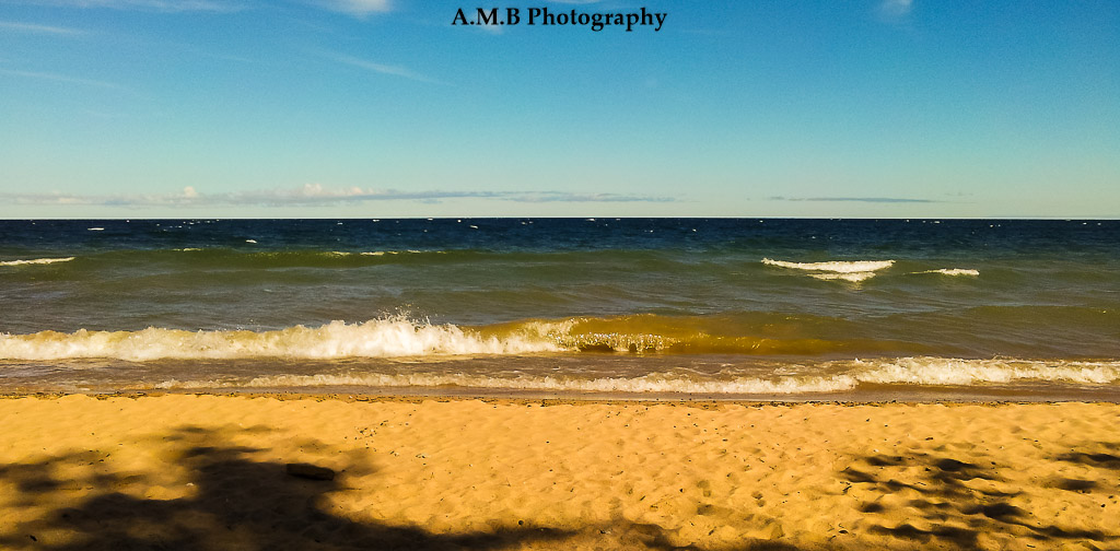 "A ""Superior View"" of Lake Superior in Grand Marais, Michigan. Captured in August of 2014 on our vacation. We love it there!"
