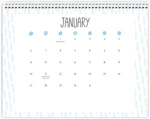 Calendar Choice #5 Page