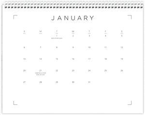 Calendar Choice #6 Page