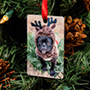 Rectangle Holiday Ornament