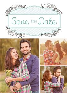 Save the Date Choice #1 - Front