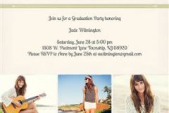 Graduation Invitation #4 - Back